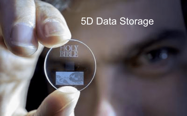 5D Data storage - Future of Data Storage