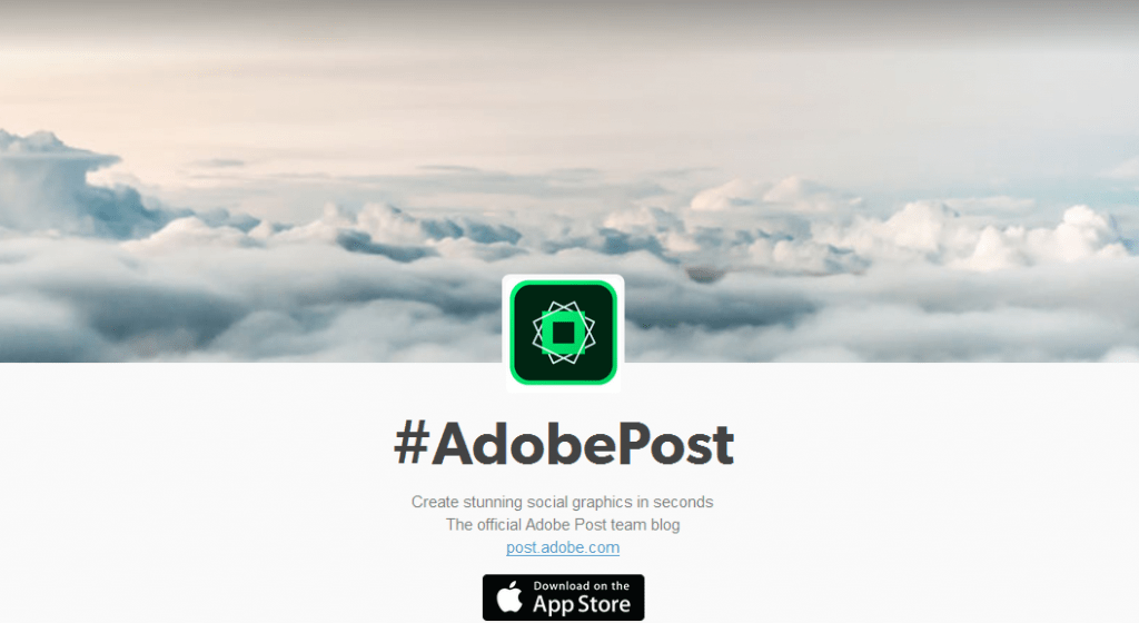 Adobe Post iPhone