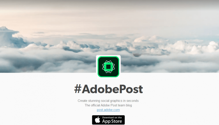 Adobe Post iPhone