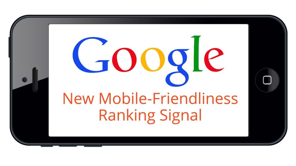 Mobile Friendly website as Google Ranking signal