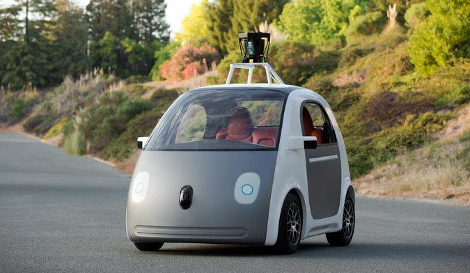 Google's new Driverless car