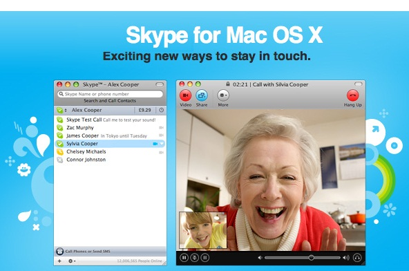 Skype for Mac